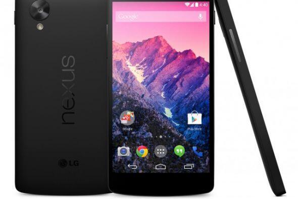 Nexus 5: fabricado por LG, este nuevo modelo Nexus cuenta ya con la nuev...