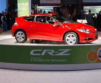 Honda CR-Z 2011 Honda presentó su línea 2010, sin embargo elCR-Z acapar...