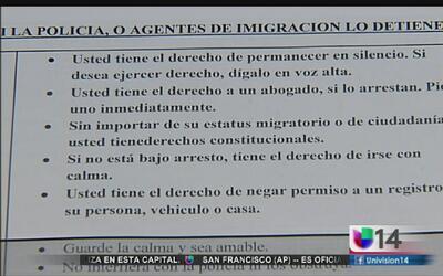Conozca sus derechos en caso de ser deportado