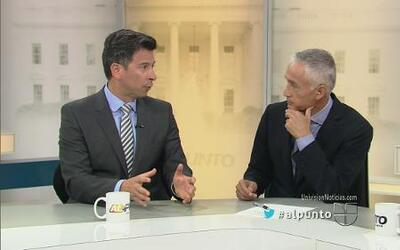 Jorge Ramos analiza los resultados de las elecciones con la mesa redonda