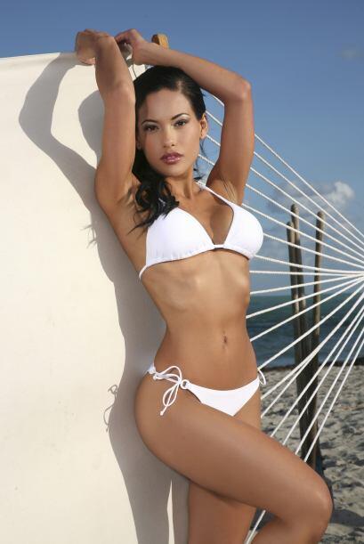 La hondureña-mexicana representó en el 2012  a Honduras en Miss Universo.