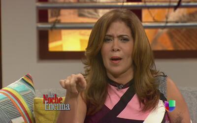 Sully Díaz le somete al reguetón en la obra teatral 'Aquí mando yo'
