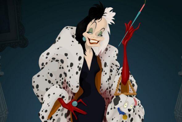¡Así es! Nada más y nada menos que de Cruella De Vil.