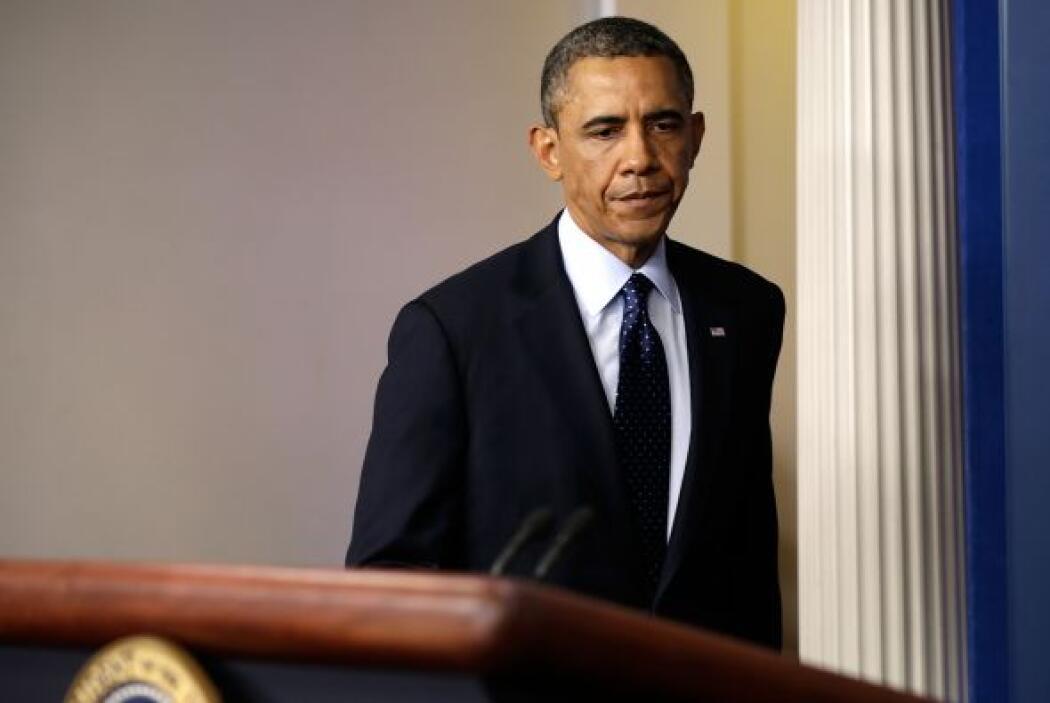 A continuación, Obama llamó al alcalde de Boston, Tom Menino, y al gober...