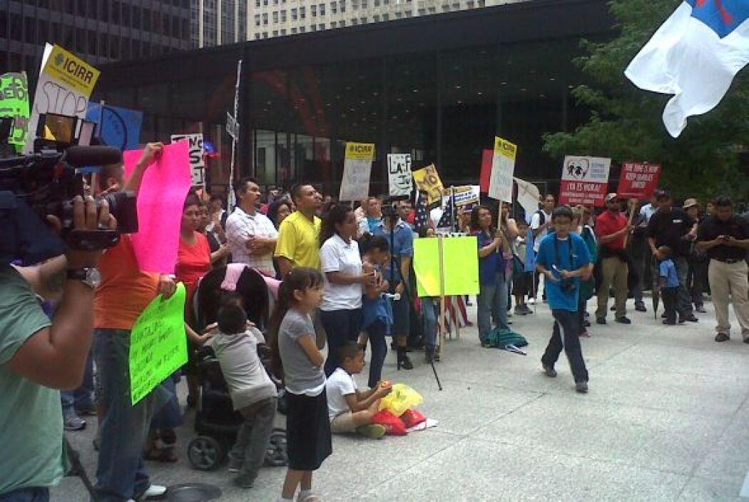 Chicago también se sumó a las marchas por la reforma migratoria. Inmigra...