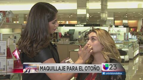Un minuto contigo: Maquillaje para el otoño