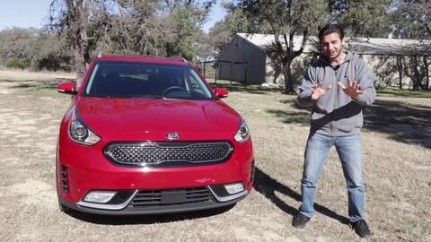 Kia Niro Hybrid 2017 - Prueba A Bordo