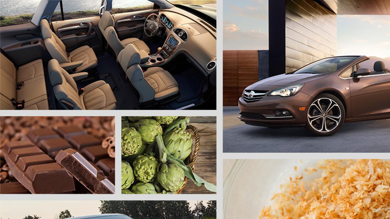 Alimentos como inspiracion de Buick