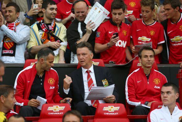 Manchester United parece estar en condición de mejorar su pésima campaña...