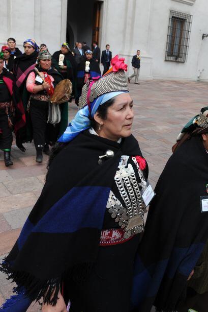 El objetivo de esa marcha, a la que se sumaron mujeres de otras comunida...