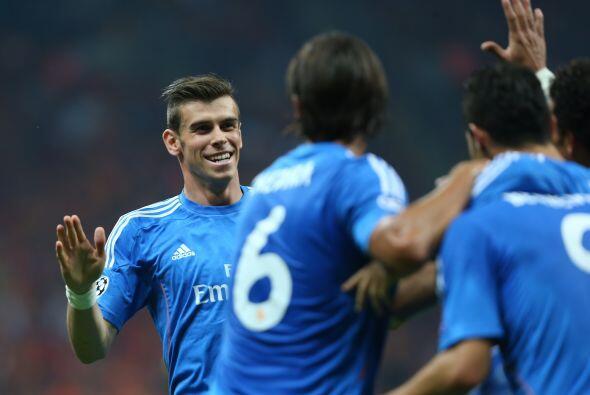 Gareth Bale entró al campo y fue testigo presencial de la victori...