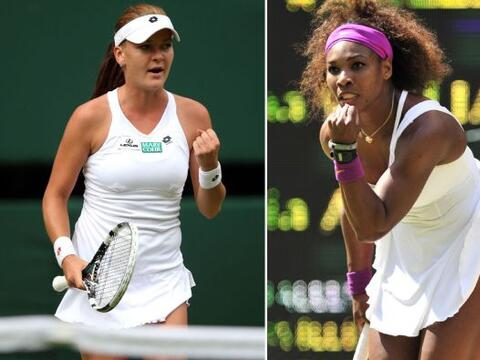 Agnieszka Radwanska, primera finalista en Wimbledon tras eliminar a Kerb...