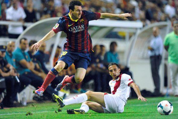 Messi no anotó, pero hizo un gran partido.