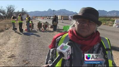 Tribu pide que se cierren retenes fronterizos en Arivaca