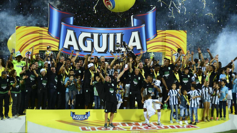 Atlético Nacional es campeón en Colombia