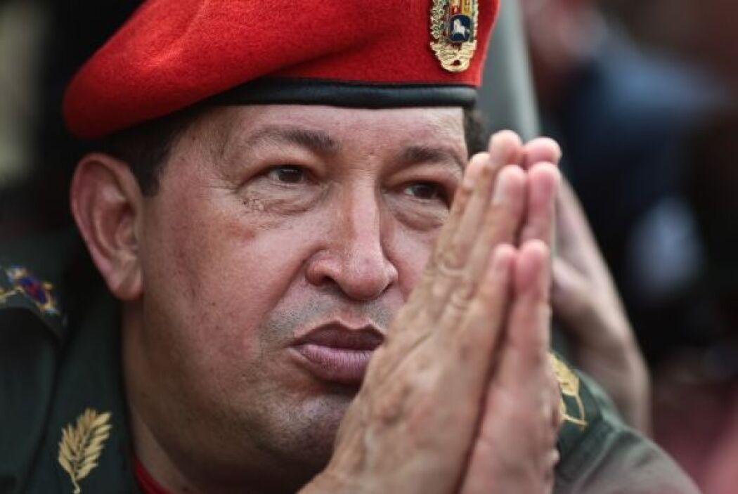 Chávez creó el año pasado un fondo destinado a la reconstrucción de vivi...