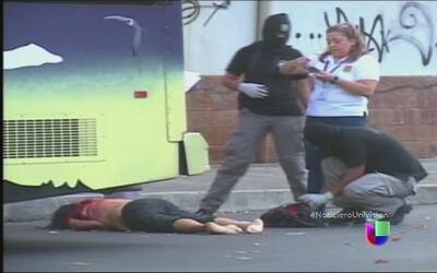 La policía en El Salvador atrapó a una pandilla de sicarios