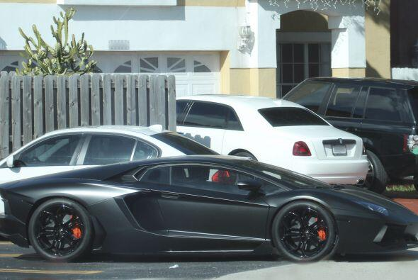 El cubano ha expresado la pasión que siente por los automó...