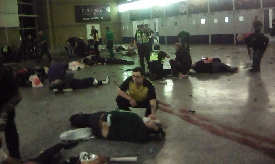 Resultado de imagen para terrorista suicida + manchester