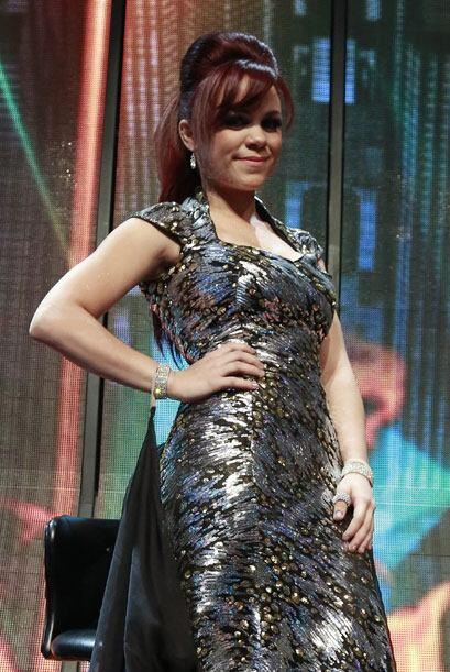 Ana Cristina durante la gala 13.