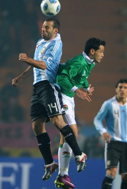 Argentina sufrió muchísimo más de lo esperado, con una defensa muy orden...
