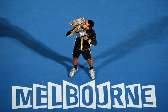 En enero se llevó el primer Grand Slam del año, el Abierto...