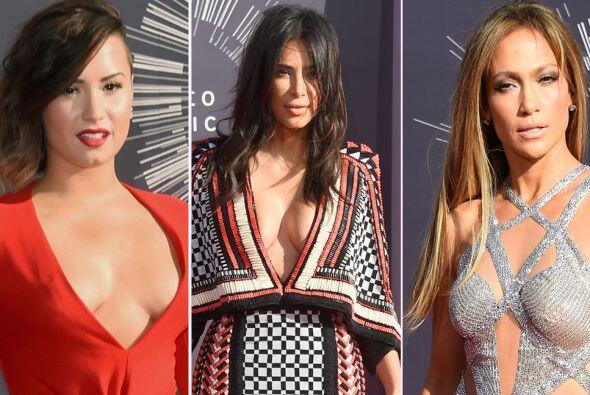 Ahora sí que en esta gala vimos los encantos de las celebridades. Miren...