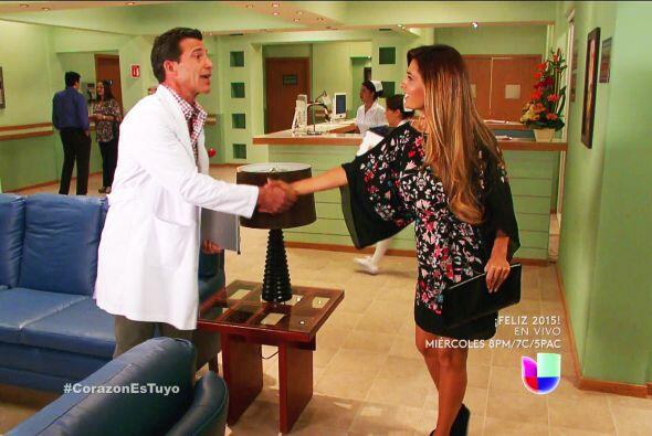 ¡No Ángel! Le estás dando la mano a la enemiga de Ana y Soledad. Sin sab...