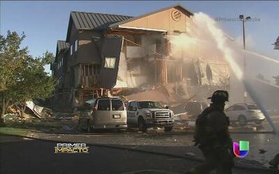 Una explosión hizo pedazos un hotel en Kentucky
