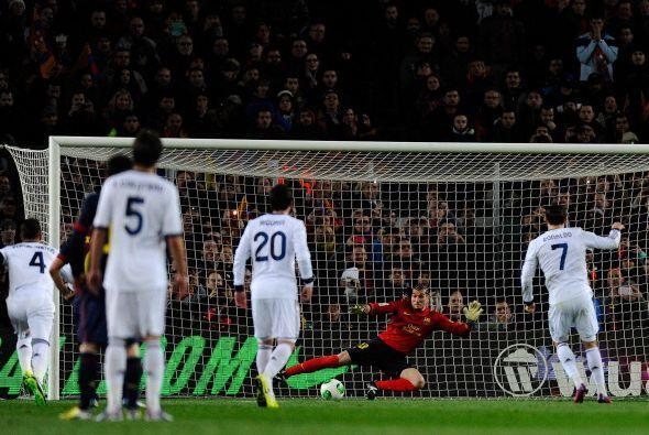 Cristiano cobró y Pinto no pudo parar.