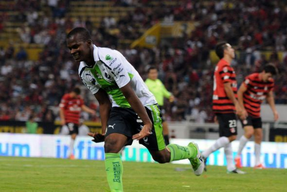 Su rival en los cuartos de final fue Santos Laguna, equipo lleno de expe...