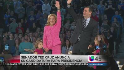 Ted Cruz va por la presidencia de EEUU