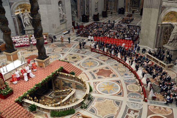 Francisco ya ha presidido la imposición de otros sacramentos como...