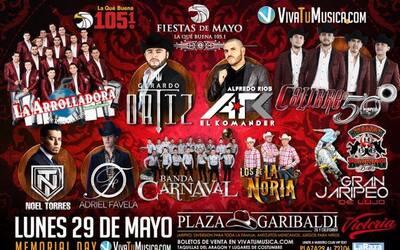 Fiestas de Mayo de La Que Buena 105.1