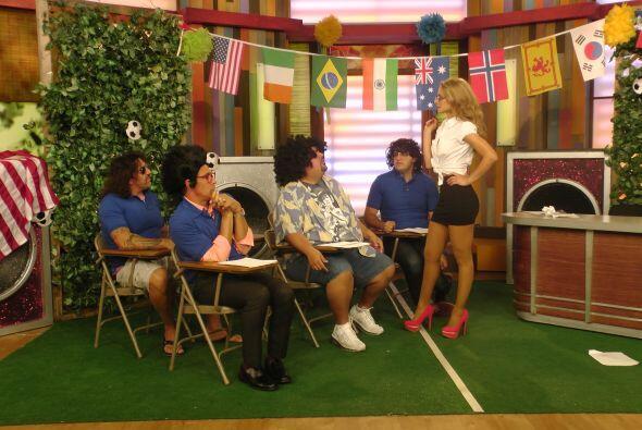 """En este grupo se encontraba """"Fluffy"""" Iglesias, que quedó impresionado co..."""