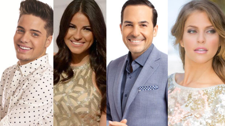 Presentadores Noche de Estrellas Premios Juventud 2015