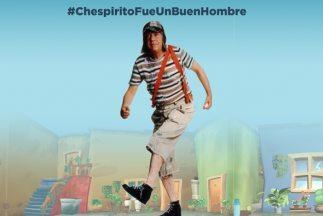 "Roberto Gómez Bolaños siempre quiso ser recordado con esta frase: ""Chesp..."