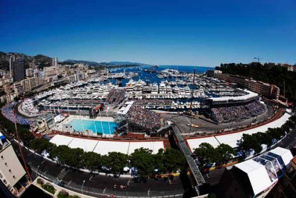 Una de las vistas más espectaculares de la marina de Monte Carlo.