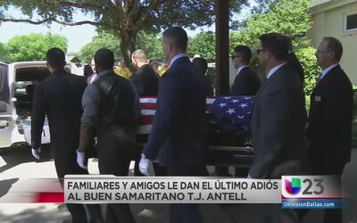Último adiós a samaritano de Arlington