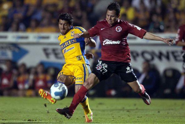 En el Apertura 2012 los Xolos vencerían como locales a los Tigres...