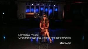 Paulina Rubio reveló secretos íntimos de su vida en InStudio