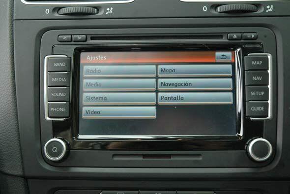 La pantalla táctil es un detalle que se agradece.