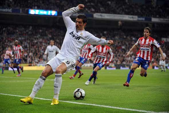 El Real Madrid recibió al Sporting de Gijón en la Liga lue...