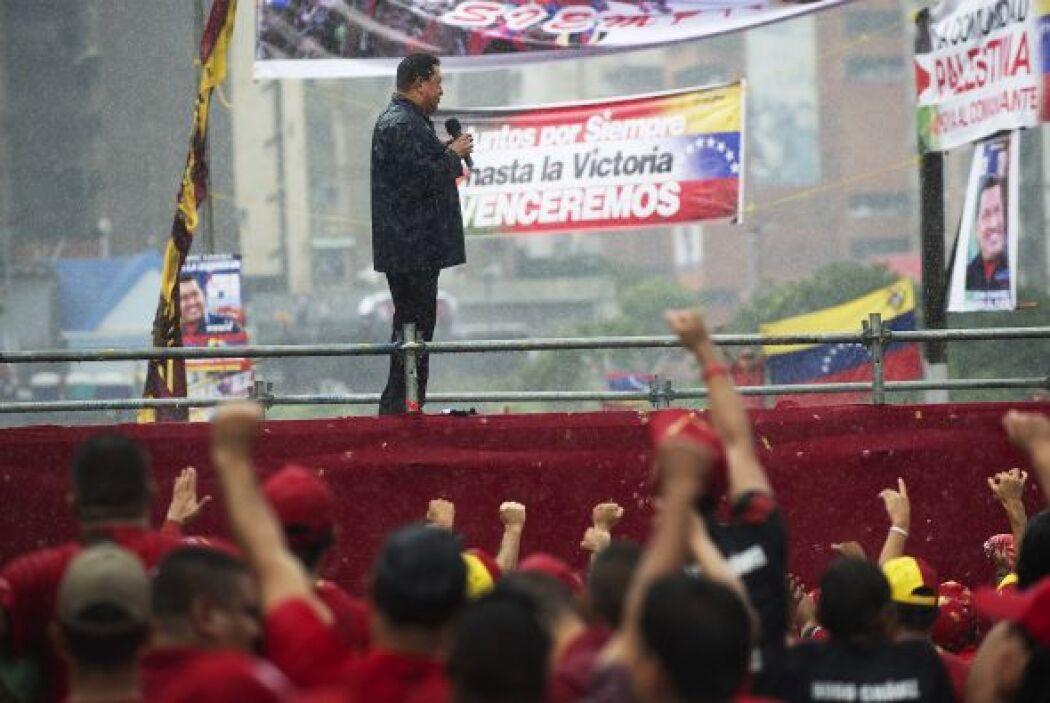 """""""¿Acaso Chávez les falló a ustedes en la cárcel? ¿Acaso Chávez se vendió..."""