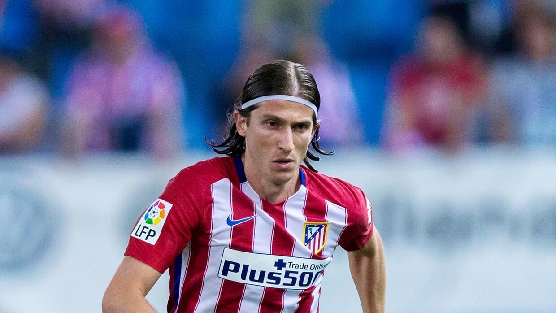 Filipe Luís espera estar a tiempo para disputar el partido contra el Barça.