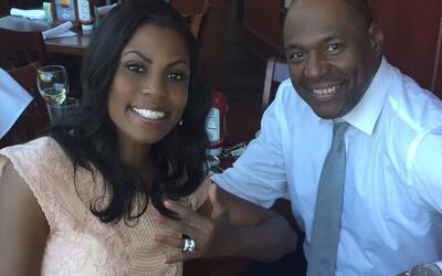Omarosa se comprometió el 28 de julio de 2016 con John Allen Newman.