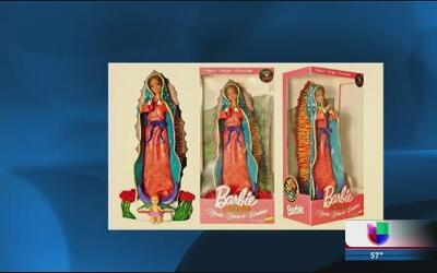 Pegan el grito en el cielo por Barbie Virgen de Guadalupe