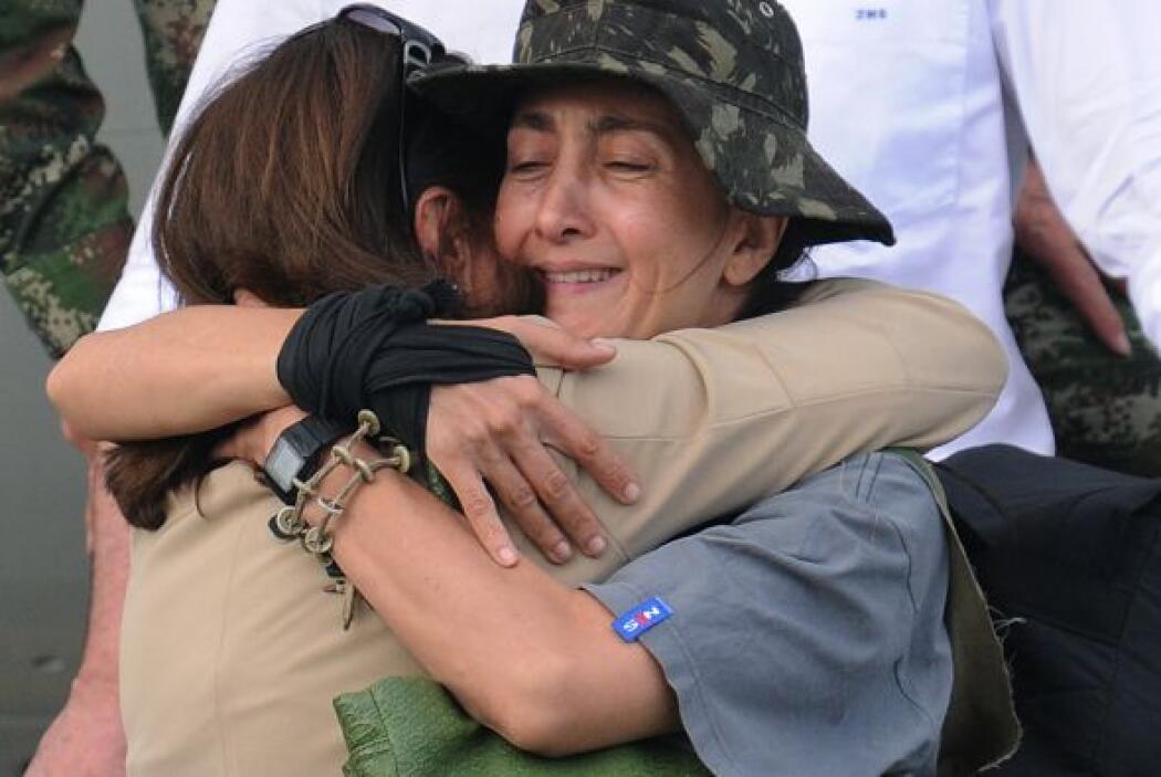 El 2 de julio de 2008 y luego de seis años secuestrada por las FARC, la...