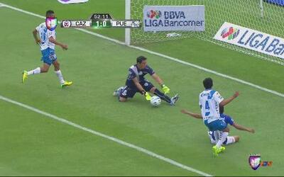 Cruz Azul vs Puebla: Joao pierde gran opción de aumentar para los cement...