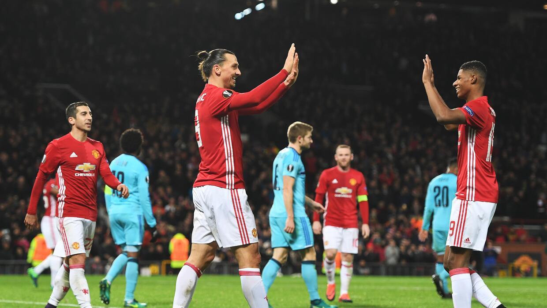 Manchester United gana en Europa